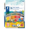 NORIS PENCILS AQUARELL Watercolour Assorted Pack of 36
