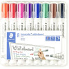 STAEDTLER WHITEBOARD MARKER 351 Bullet Assorted Wallet of 8