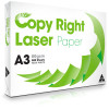 Copy Right Laser Copy Paper A3 80gsm White Cartons of 3 Ream of 500