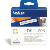 BROTHER DK-11203 FILE FOLDER Label 17X87mm White Box of 300