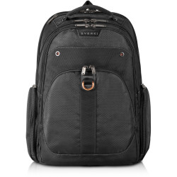 EVERKI ATLAS TRAVEL FRIENDLY LAPTOP BACKPACK 11 Inch to 15.6 Inch compartment Black