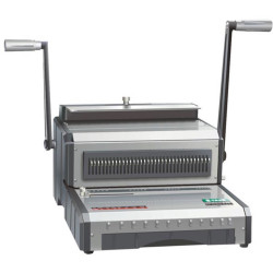 QUPA S210 WIRE BINDING MACHINE Adjustable Margins 2:1 Pitch