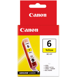 CANON INK CARTRIDGE BCI-6Y Yellow