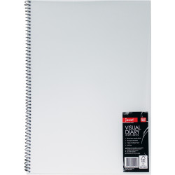 JASART WIRE BOUND VISUAL DIARY A3 Clear Cover