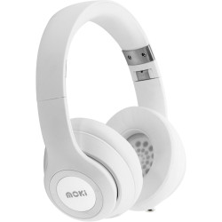 Moki Katana Headphones White Bluetooth