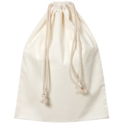 ZART CALICO LIBRARY BAG With Drawstring 35X44cm Beige Pack of 10